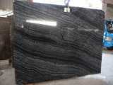 High Quality and Competitive Price Cut to Size Black Serpeggiante Slab