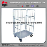 Metal Foldable Wire Mesh Roll Container Handling
