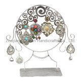 Hot Sale Simple Black Structure Jewellery Display Stand (wy-4520)