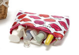 Zip up Fashion Polyester Cosmetic Case for Ladies/Small Pouch for Travel (FLY- CB0123)