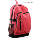 Sport Canvas Backpack Preppy School Bag Casual Travel Bags