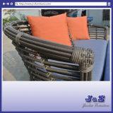 Outdoor Rattan Sofa Wicker Sectional Patio Garden Furniture, Classic Lounge Chair Set (J357)