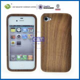 Black Natural Engraved Wooden Wood Cell Case for iPhone 4S