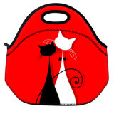 Cartoon Lunch Bag Students Portable Waterproof Travel Lunch Box Bag