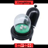 Casino Plastic Manual Dice Cup Shape Automatic Dice Cup (YM-DI03)