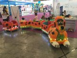 Amusement Ride Light Sensor Kiddie Electric Dog Train for Kids Amusement Park