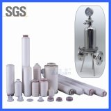 10 20 Inch Stainless Steel 5 Micron Pleated Cartridge Filter Housing with PP Pleated Membrane