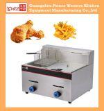 Gas Double Fryer Kitchen Equipment