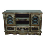 Wood Home Living Room Furniture TV Console Table