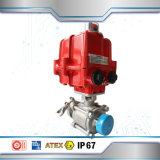 4-20mA Proportional Butterfly Valve Electric Actuator