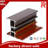 Aluminum/Aluminium Wood Color Profile for Window and Door