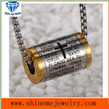 Titanium Steel Jewelry Necklace with a Stainless Steel Pendant (SPT6275)
