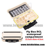 High Quality Waterproof Compartment 15.5*9*4.5cm Fly Fishing Box