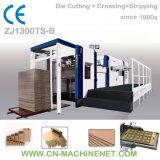 Zj1300ts-B Automatic Flat Bed Die Cutting Machine to Make Corrugated Carton Box
