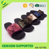 Fashion Lady Fluffy Slides Slipper Fur Women Sandals Upper Suede Fabric