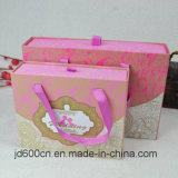 Colorful Paperboard Chocolate Box with Rope Handle