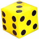 Eco-Friendly Hot Sales and Safety Promotion EVA Dice/Foam Dice