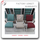 Colorful Fabric Contemporary Church Armrest Chair (JC-21)