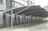 Flat Roof Prefabricated Light Steel Structure Carport (KXD-83)