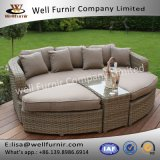 Well Furnir T-082 4 Piece Outdoor Rattan Sofa Bed