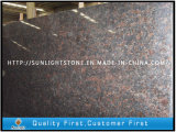 Cheap Polished Tan Brown Granite Slabs for Countertop/Vanitytop/Flooring/Paving