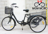 2015 Best Seller Cargo Tricycle Three Wheels Electric Bicycle with En15194