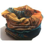 OEM Produce Customized Design Logo Printed Polyester Snowboard Headband