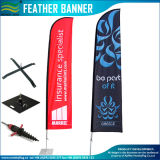 Fiberglass Pole with Steel Spike Used on Feather Flags, Beach Flag (J-NF04F06078)
