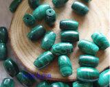 Natural Malachite Rice Beads