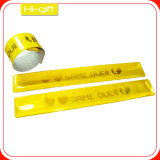 Custom PVC Reflective Slap Wristband (M005)