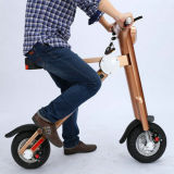 500W 22.5kg Golden Lightweight Folding Mobility Scooter with Samsung Battery