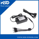 Laptop 10W 5V Switching Power Adapterr for CE Plug with Multi-Charger