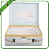 Delicate Suitcase Box Packaging with White Tassels