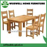 Oak Wood Furniture Dining Room Sets (W-DF-1201)