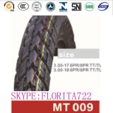 Good Quality Motorcycle Tyre and Tube 3.00-17, Motorcycle Tyres 3.00-17
