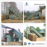 Full-Automatic Hydraulic Press Hay Baler (HFST6-8) with CE
