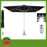 Square Polyester Top Roman Umbrella with Aluminium Alloy Frame