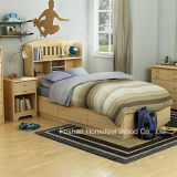 Kids Twin Wood Mates Bed 3 Piece Bedroom Set (HF-HH31)