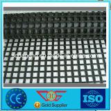 Asphalt/Bitumen Coated Fiberglass Biaxial Geogrid 50kn/80kn/100kn