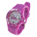 Fashion Waterproof Japan Movt Silicone Wrist Watch
