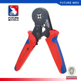 Mini Self-Adjustable Crimping Pliers for Tubular Bare Terminals