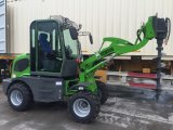 Hzm Mini Loader for Sale Sweeper for Sale