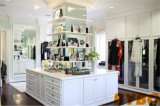 Small Walk in Closet with Built in Shoe Shelves (BY-W-25)
