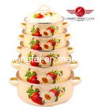 675D High Quality Enamel Cookware Set