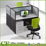 2 Seater Office Workstation Table of MFC Frame