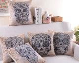 Skull Transfer Pillow Printed Fashion Decorative Cushion (SPL-437)