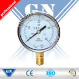 Steam Boiler Pressure Gauge with Radial Direction
