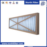 G3 G4 Cardboard Frame Pre Pleated Industrial Air Filter