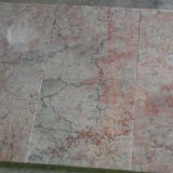 Good Quality Cyan Red Cream Marble Slabs