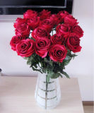 OEM Design Artificial Flower Single Rose